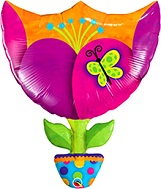 "35"" Fantasy Tulip Shape Balloon"