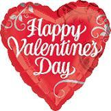 "32"" Happy Valentine's Day Shape Balloon"