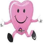 "26"" Happy Hugs Pink AWK Balloon Buddies"