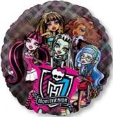 """26"""" Monster High See-Thru Balloon"""