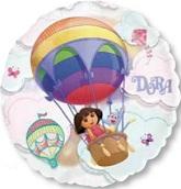 """26"""" Dora See-Thru Hot Air Balloon"""