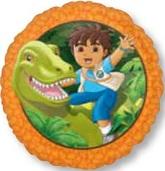 """18"""" Dinosaur Go Diego Go"""