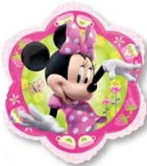 "20"" Minnie Mouse Flower Shape Balloon"