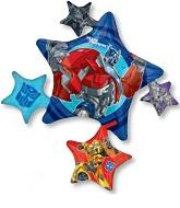 "35"" Transformers Jumbo Balloon Cluster"