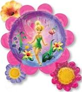"""30"""" Tinker Bell Flower Cluster Balloon"""