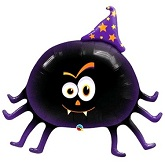 "27"" Friendly Spider Mylar Balloon"