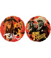 "18"" The Lone Ranger & Tonto (2-sided design)"