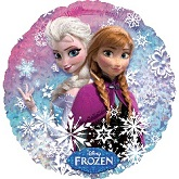 "18"" Disney Frozen Holographic Mylar Balloon"