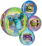 """16"""" Monsters University Characters Orbz Balloons"""