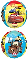 """16"""" Cars Characters Orbz Balloons"""