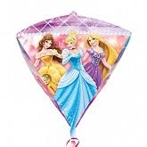 """17"""" Disney Princess Diamondz Foil Balloon"""