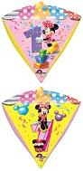 """16"""" Minnie Age 1 UltraShape Diamondz"""