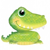 "35"" Alligator UltraShape Balloon"