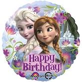 "18"" Disney Frozen Birthday Mylar Balloon"