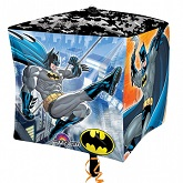 "15"" Batman UltraShape Cubez Foil Balloon"