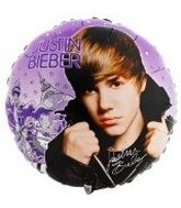 "18"" Justin Bieber Mylar Party Balloon"
