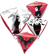 "16"" Maleficent UltraShape Diamondz"