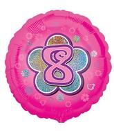 """18"""" 8 Pink Balloon"""