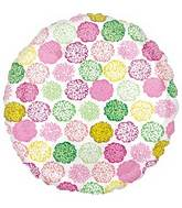 """18"""" Floral Collage Foil Balloon"""