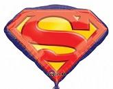 26'' Superman Emblem Foil Balloon