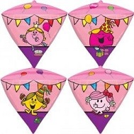 """15"""" Little Miss UltraDiamondz Foil Balloon"""