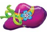 """38"""" Purple Hat SuperShape"""
