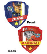 """25"""" Paw Patrol Chase and Marshall"""
