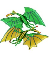 "36"" Green Dragon Balloon"