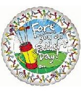 "18"" Fore You on Father's Day"