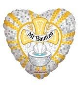 """18"""" Mi Bautizo Balloon"""