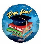 """9"""" Airfill Por Fin Graduados Libros (Spanish)"""