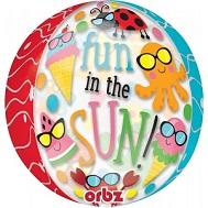 """16"""" Orbz Fun in the Sun Cute Characters Balloon"""