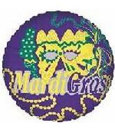 """18"""" Mardi Gras Purple"""