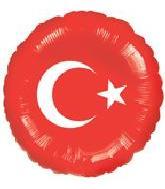 """18"""" Turkish Flag"""