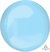 "16"" Orbz Pastel Blue Orbz XL Foil Balloon"