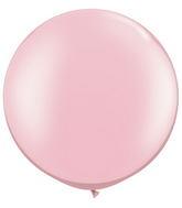 "30""  Qualatex Latex Balloons  Pearl PINK 02CT"
