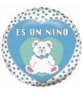"""4"""" Airfill Es Un Nino Bear Balloon"""