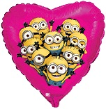 "18"" Despicable Me Minion Party Heart"
