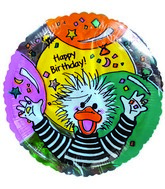 "2"" Airfill Suzy Zoo Happy Birthday Balloon"