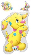"""35"""" Sunny Spot & Butterfly Jumbo Licensed Mylar Balloon"""