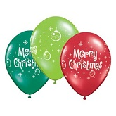 "11"" Merry Christmas Ornaments Assortment (50 Count)"