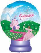 "22""Happy Birthday Princess Globe"