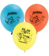 "12"" Turbo 6 pack Latex Balloons"