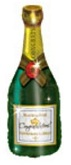 "35"" Congratulations Champagne Bottle Packaged"