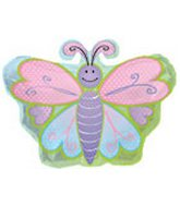 """20"""" Butterfly With Polka Dot"""