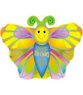 """20"""" Happy Birthday to You Butterfly Packaged"""