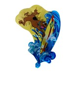 "30"" Licensed Scooby-Doo Surfing Shaped Jumbo Balloon"
