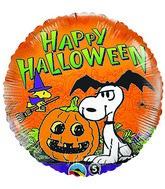 """18"""" Peanuts Halloween Balloons"""