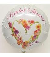 "18"" Floral Romance Bridal Shower"