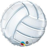 "18"" Volleyball Packaged Mylar Balloon"